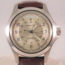 Hamilton H664550 Steel 2010 Khaki Field Day Date 40mm pre-owned United States of America, Michigan, Warren