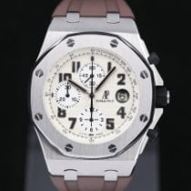 Audemars Piguet Royal Oak Offshore Chronograph Acier 42mm Blanc Arabes