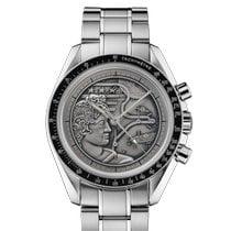 Omega Speedmaster Professional Moonwatch Zeljezo 42mm Srebro Bez brojeva