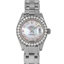 Rolex Lady-Datejust Pearlmaster White gold 29mm Mother of pearl No numerals United States of America, Maryland, Baltimore, MD