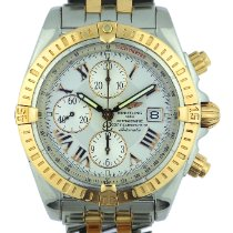 Breitling Chronomat Evolution Gold/Steel 44mm White Roman numerals United States of America, Georgia, Johns Creek