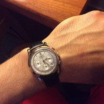 Tissot Heritage pre-owned 39mmmm Silver Chronograph Leather
