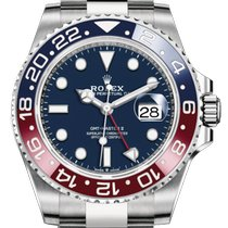 Rolex GMT-Master II White gold 40mm Blue No numerals United States of America, New York, New York