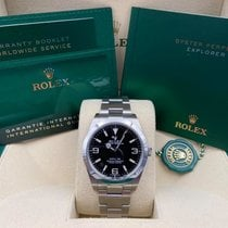Rolex Explorer 214270 Unworn Steel 39mm Automatic