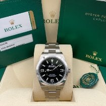Rolex Explorer Steel 39mm Black Arabic numerals United States of America, New York, New York