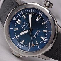 万国 Aquatimer Automatic 钢 42mm 蓝色 无数字 中国, 上海