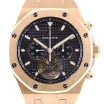 Audemars Piguet Royal Oak Tourbillon Or rose 44mm Noir