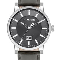 Police Steel 42mm Quartz PL15404JS.13 new