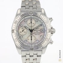 Breitling Chrono Galactic Steel 39mm Mother of pearl