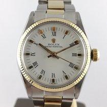 Rolex Oyster Perpetual 31 Acier 31mm Blanc Sans chiffres