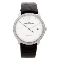 Girard Perregaux 1966 White gold 38mm Silver No numerals United States of America, Florida, Surfside
