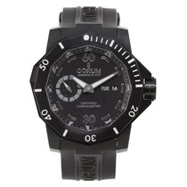 Corum Admiral's Cup Seafender Deep Hull Titanium 48mm Black Arabic numerals United States of America, Florida, Surfside