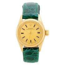 Rolex Automatic Gold No numerals 26mm pre-owned Oyster Perpetual 26