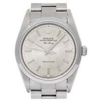 Rolex Air King Precision Steel 34mm Silver No numerals United States of America, Florida, Surfside