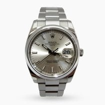 Rolex Oyster Perpetual Date Steel 34mm Silver No numerals Malaysia, Malaysia