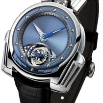 De Bethune Platina 42.9mm Handopwind DW3PS3 tweedehands