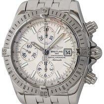 Breitling Chronomat Evolution pre-owned 44mm Silver Chronograph Date