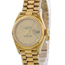 Rolex Lady-Datejust Yellow gold 26mm Champagne United States of America, New York, New York