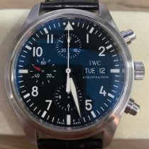 IWC Pilot Chronograph Steel 42mm Black Arabic numerals Singapore, Singapore