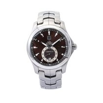 TAG Heuer Link Calibre 6 Steel 39mm Brown United States of America, New York, New York