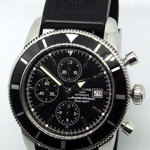 Breitling Superocean Héritage Chronograph gebraucht 46mm Chronograph Datum Faltschließe