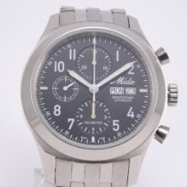 Mido Multifort Chronograph Stal 42mm Czarny