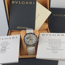 Bulgari Bulgari Steel 38mm Mother of pearl No numerals