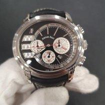 Audemars Piguet Millenary Chronograph Acero 47mm Negro Sin cifras