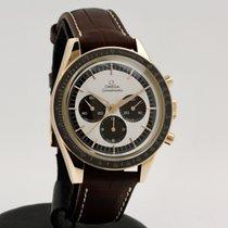 欧米茄 Speedmaster Professional Moonwatch 玫瑰金 39mm 白色 无数字