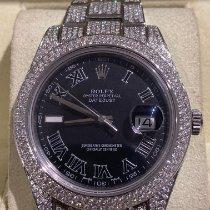 Rolex Datejust II Steel 41mm Grey Roman numerals Australia, adelaide