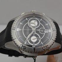 Hamilton Jazzmaster Seaview Steel 43mm Black No numerals