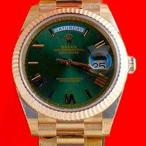 Rolex Day-Date 40 Roségold 40mm Braun Römisch Österreich, Wien