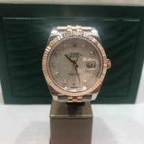 Rolex Datejust II Gold/Steel 41mm Mother of pearl No numerals