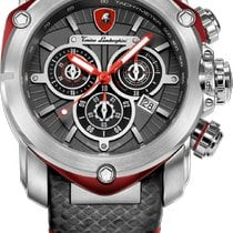 Tonino Lamborghini Steel 48.77mm Quartz Tonino Lamborghini 3203 SPYDER Chronograph Quartz Swiss Made new