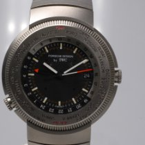 IWC Porsche Design Titanium 40mm Black Arabic numerals