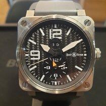 Bell & Ross BR 03-51 GMT Titanium 42mm Black Arabic numerals