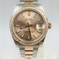 Rolex Lady-Datejust Gold/Stahl 31mm Pink Keine Ziffern Österreich, Wien