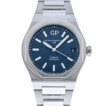Girard Perregaux Laureato Steel 41mm Blue United States of America, Georgia, Atlanta