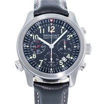 Bremont ALT1-P Pilot Steel 43mm Black United States of America, Georgia, Atlanta