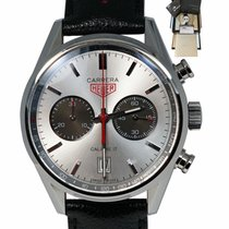 TAG Heuer Carrera Calibre 17 Staal 41mm Zilver