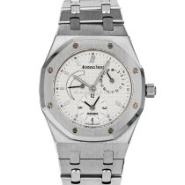 Audemars Piguet Royal Oak Dual Time pre-owned 36mm White Date Steel