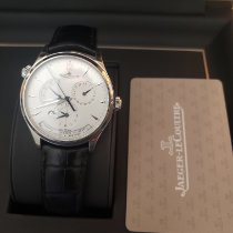 Jaeger-LeCoultre Master Geographic Steel 39mm Silver Arabic numerals United States of America, Connecticut, westport