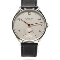 NOMOS Minimatik Steel 35.5mm White Arabic numerals