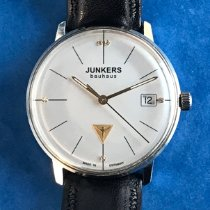 Junkers Bauhaus Steel 35mm Silver No numerals