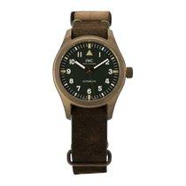 IWC Pilot's Watch Automatic 36 Bronze 36mm Green Arabic numerals