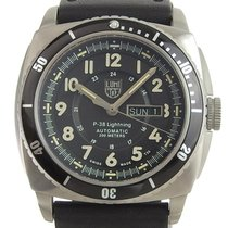 Luminox P-38 Lightning Aço 47mm Preto
