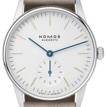 NOMOS Orion 33 new 2020 Manual winding Watch with original box and original papers 322