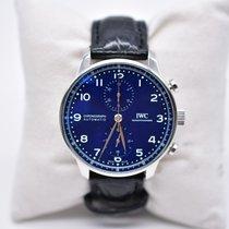 IWC Portuguese Chronograph Steel 41mm Blue Arabic numerals Thailand, Bangkok