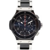 Hublot Big Bang 44 mm Steel 44mm Black Arabic numerals
