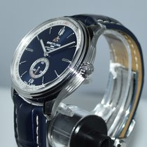 Breitling Steel 40mm Blue No numerals